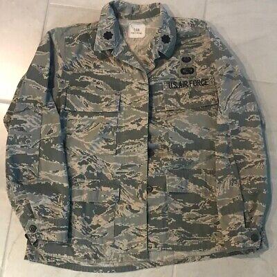 - Military ACU BDU Digital Camo Shirt Jacket Size 16R - US AIR FORCE USAF
