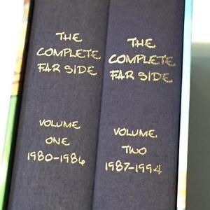 The Complete Far Side 1980-1994 by Gary Larson (2 Vol Set) 1st Edition