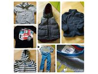 Bundle of boy's clothes 3-4 years