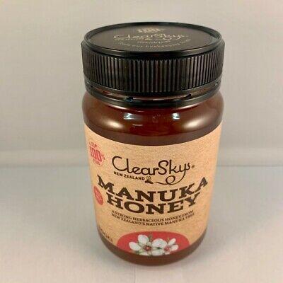 ClearSky NZ Manuka Honey MG80+ 500g Jar New Zealand 100% Pure