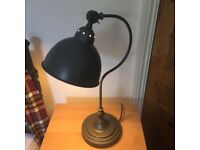 Grey Desk Lamp