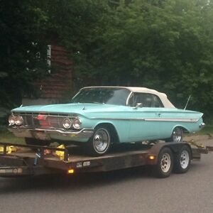 cash for 1955-1964 Chevrolet convertibles, Belair / Impala