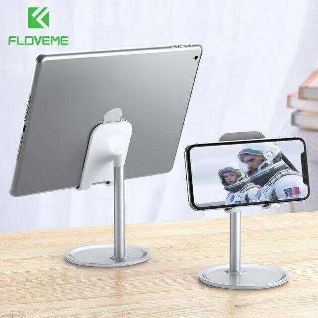 FLOVEME Universal Tablet Phone Holder Desk For iPhone Deskto