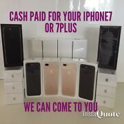 Wanted!!!  Top Cash Paid for all New & Sealed iPhone 7 & iPhone 7Plus Melbourne CBD Melbourne City Preview