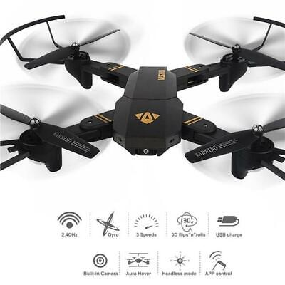 RC Drone Quadcopter With 2MP HD Camera WIFI 6-Axis Fordable Altitude Hold Kits