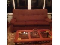 Parker Knoll 3 Seater Couch recently recovered as new