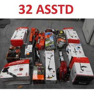 32 ASSTD POWER TOOLS LOT - 119883273 - EDGER TRIMMER BLOWER LAWN CARE GRASS MAINTENANCE SEE COMMENTS
