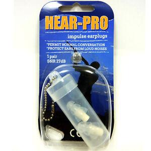 Tappi per le orecchie hear pro riutilizzabili per sport for Tappi per le orecchie antirumore