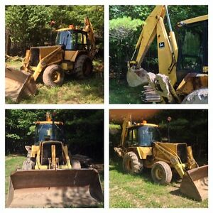 JOHN DEERE 510 B TURBO BACKHOE 2X4