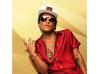 Bruno Mars Tickets, Glasgow