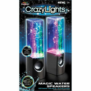 Cra-Z-Art Crazy Lights Magic Water Speakers - Black