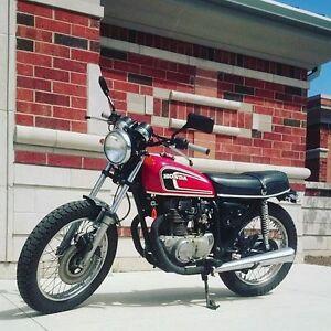 1975 Honda CB360T // Custom scrambler style