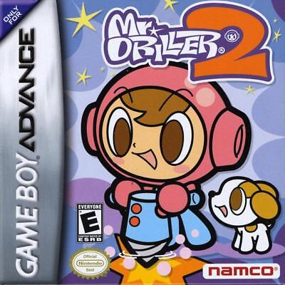 Namco Mr. Driller 2 Gba Game Boy Advance