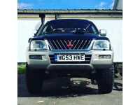 Highly modified Mitsubishi l200 for sale or will break