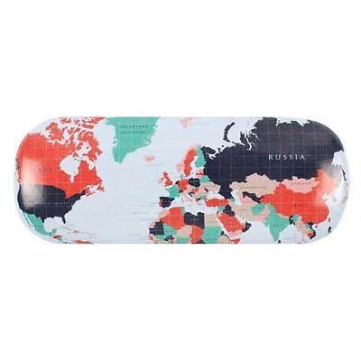 Estuche Gafas Mapa Estampado - Viaje Accesorios - Regalo País Europa