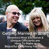Ontario's Most Exclusive & Unique Wedding Officiants