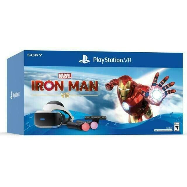 PlayStation VR Iron Man VR Bundle With Five Games