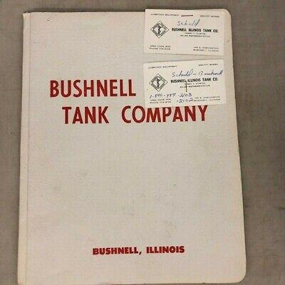Bushnell Illinois Tank Company - Grain Wagon Gravity Box Hydra Fold Auger - Ad