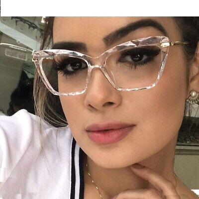 Fashion Quadratisch Brillengestell Damen Modern Stile Brand Optisch Computer