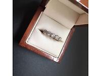Five diamond ring