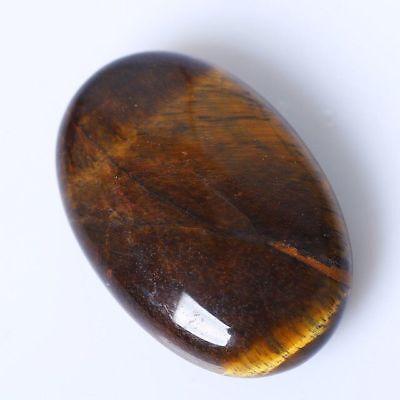 Palm Tumbled Stone Tiger-eye Gemstone Crystal Healing Smooth Soap Shape Massage  Gemstone Crystal Palm Stone