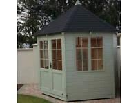 New hexagonal summer house 3.0 diameter