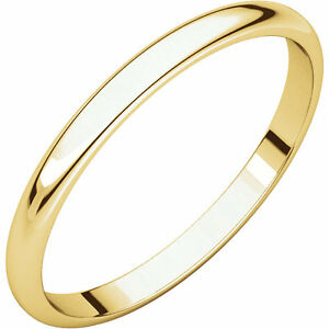 10 Karat Gold Wedding Band