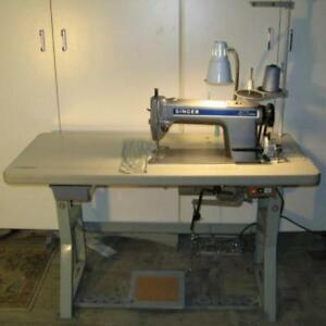 MACHINE A COUDRE INDUSTRIELLE SINGER INDUSTRIAL SEWING MACHINE