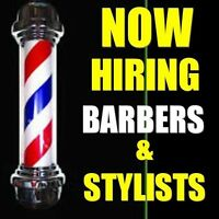 Looking For EXPERIENCED barber/hairstylist