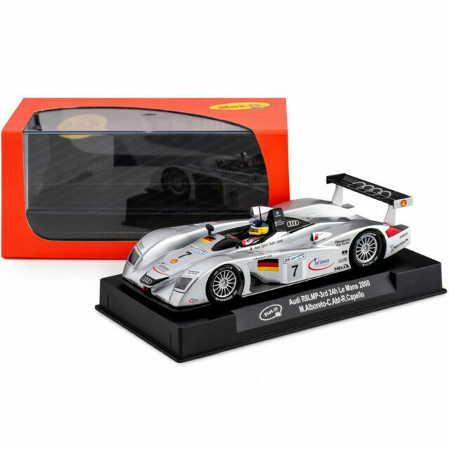 SCX Slot Cars 60360 1/32 Audi R8 Le Mans Winner 2000
