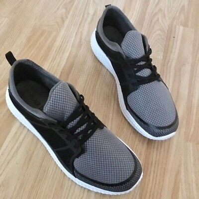 Lace Cross Trainer (Men Lace Orthopaedic Diabetic Shock Retro Light Run Cross Trainer Gym Shoe)