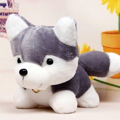 X Large 35cm Husky Plush Soft Toy Cute Dog Toy Animal **UK SHIPPING**