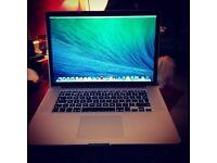 """15""""MacBook Pro with Retina display"""