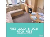 Used 2 Bedroom Caravan For Sale - FREE 2020 & 2021 FEES! Norfolk