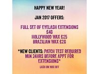 Precision waxing and eyelash extensions Cambridge | Lash On Wax Off