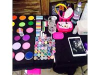 PARTY PACKAGES!! FACE PAINTING, CANDY FLOSS, POPCORN, BOUNCY CASTLES, DISCO DOMES