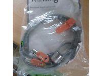 Kensington keyed laptop lock