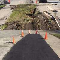 ROAD GRADE ASPHALT REPAIRS TODAY!!