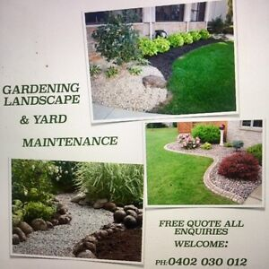 Gardening Landscape and Yard Maintenence Adelaide CBD Adelaide City Preview