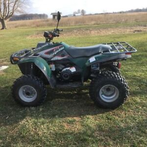 Looking for Four wheeler