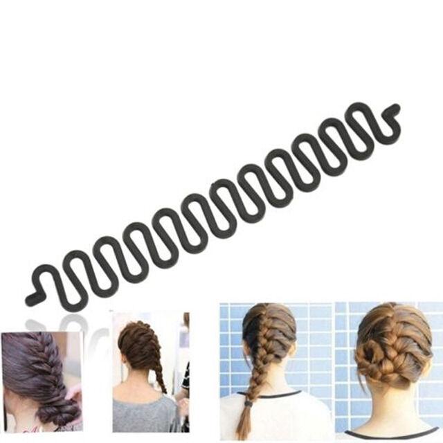 Stirnband Mädchen Twist Braid Seil Gummiband Haar Accessoires Kinder Perück S9T5