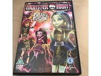 Monster High DVD Freaky Fusion