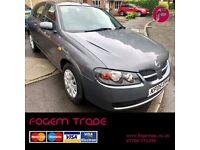Nissan Almera SE 1.5 5dr - NEW NO ADVISORY MOT - Only 2 Owners + FREE Warranty for well under £1000!