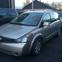 2007 Nissan Quest SL cuir Fourgonnette, fourgon