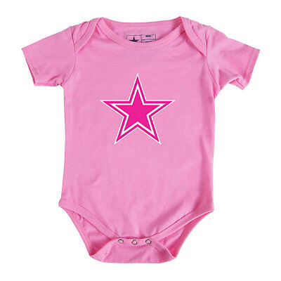 Baby Girl Dallas Cowboys (Dallas Cowboys Infant Girls Logo Pink)