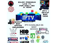 IPTV SMART TV IPHONE ANDROID TABLETS LAPTOP MAG254