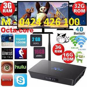 NEW 3GB/32GB Android TV Box Top of the range S912 Octa Core Kodi Noble Park Greater Dandenong Preview
