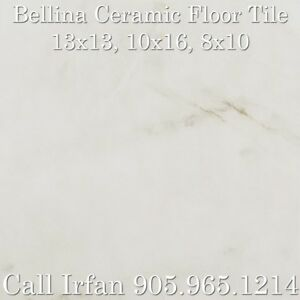 13x13 Bellina Ceramic Floor Tiles Cream Ceramic Flooring Tiles