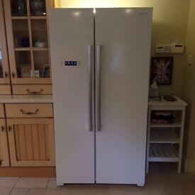Kenwood American Style Fridge Freezer - ONE YEAR OLD