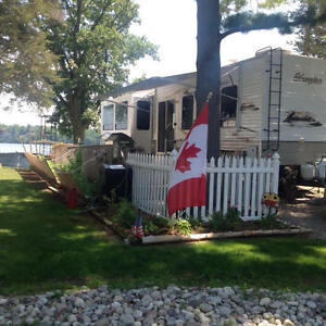 Waterfront FULLY LOADED LUXURY Camp Park Model Trailer